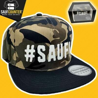 #SAUFI Snapback inkl. Aufbewahrungsbox mit Sichtfenster (Military Edition)