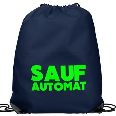 SAUFAUTOMAT Festival Bag (Farbe Navy/Grün)