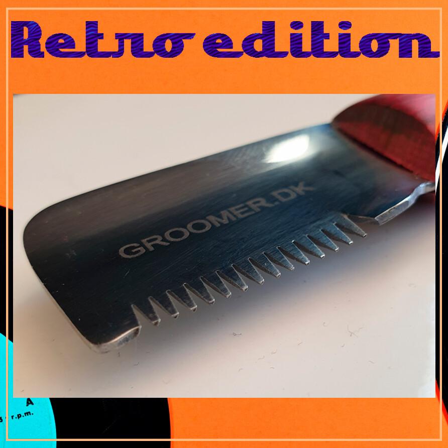 RETRO EDITION stripping knife - COARSE