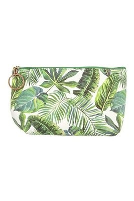Palm Tree Printed Pouch