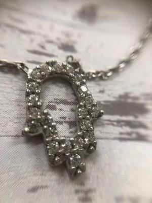 Open Hamsa Necklace