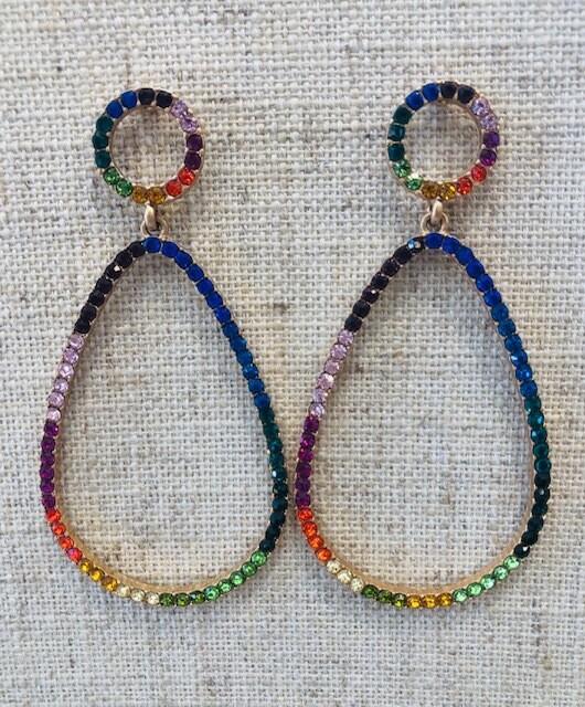 Vibin Oval Earrings