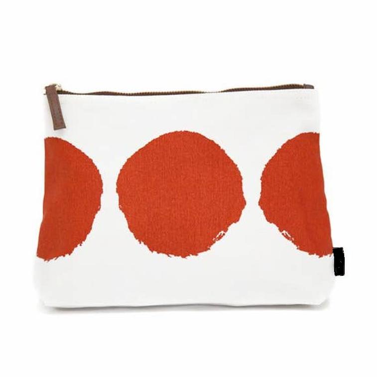 Echo Tangerine pouch