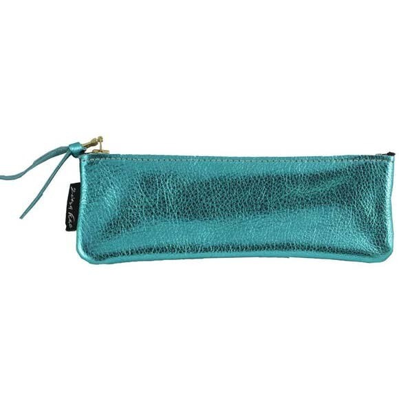 The Deano Metallic Leather Pouch