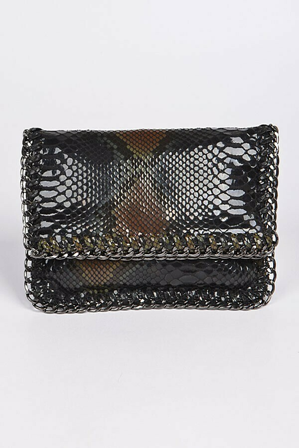 Metal Edge Handbag