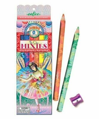 French Dancer Mixes Pencils