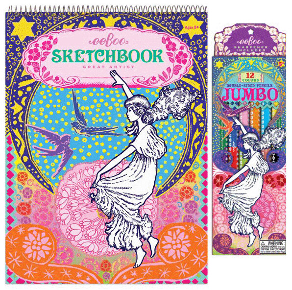 Eeboo Sketch Books
