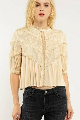 Melba Lace Top