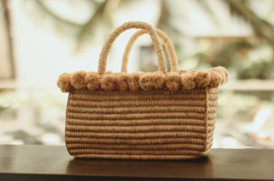El Puerto Straw Bag