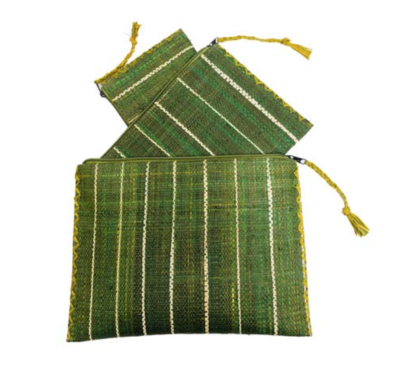 Tres amigos Small Green Catchall