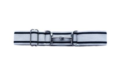 Silver grey Snaffle Belt