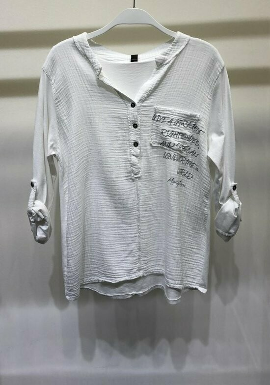 Give a Girl Henley Top