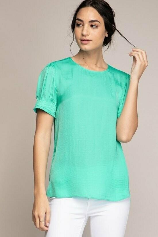 Ice Green summer Colour Top
