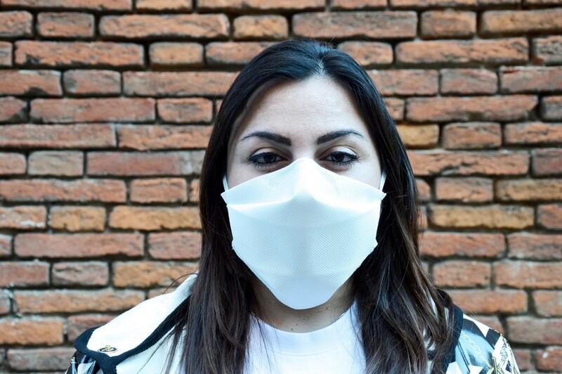 """10 MASCHERINE PROTETTIVE per uso facciale """"INTELLIGENTE"""" FFP1 NEUTRA"""