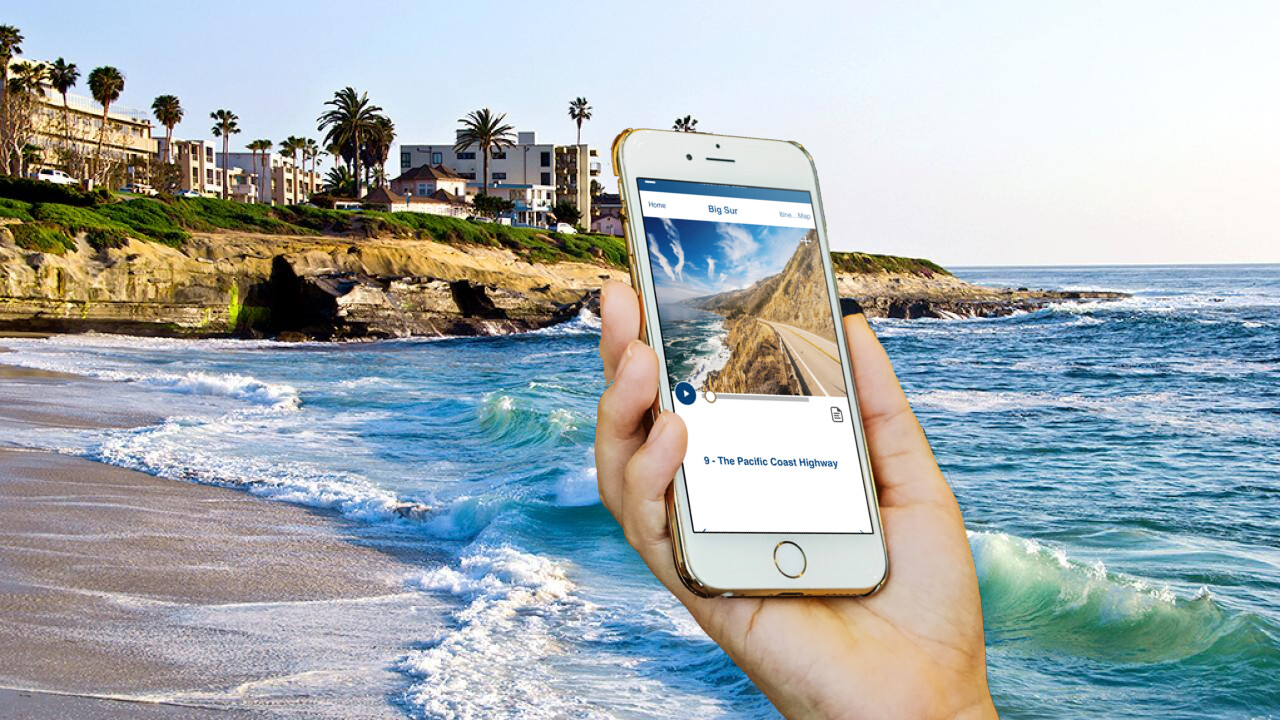 California Big Sur (Monterey to Pismo Beach) GPS Self Guided Audio Drive