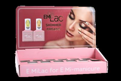 Display E.MiLac Shimmer Dreams