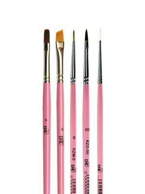 Set of brushes E.Mi Design technologies