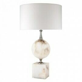 """Настольная лампа """"Eichholtz"""" Creek Alabaster"""