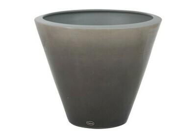 Вазон Shiny Ceramic Grey L