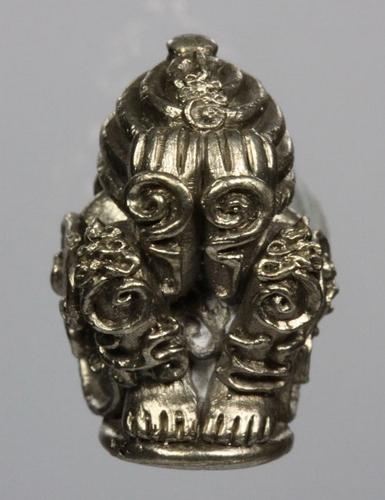 Pra Pid Ta Nai Kan (Pid Ta in the womb) - Run 'Por Tan Khiaw Ubpathamp' - Nuea Bpanjaloha Piw Prai Ngern - Wat Huay Ngo - LP Tuad statue Malaysia edition