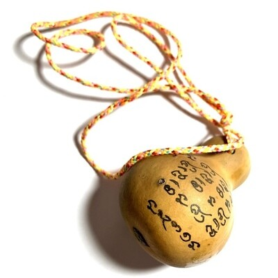 Nam Tao Maha Lap Maha Pokasap Magic Gourd of Wealth Hand Inscriptions Luang Phu Hongs Prohmabanyo