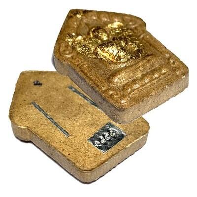 Khun Phaen Roi Choo Nuea Wan Bad Nam Man Prai 2 Takrut 1 Gemstone Luang Por Mian Wat Ban Janiang only 2000 Made