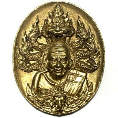 Rian Tong Maekasit Luang Por Tuad Bodhisattva 4 x 3 Cm Three Blessing Ceremonies at 3 Great Temples Wat Prasat Wat Sai Ma Dtai Wat Tham Jampa Tong