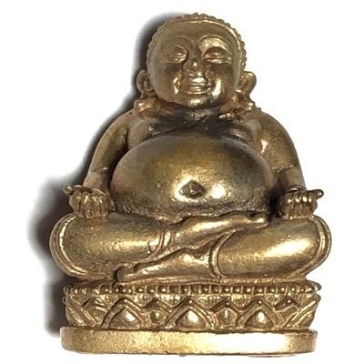 Pra Sangkajjai Loi Ongk Nuea Tong Daeng Ud Pong - Traimas 2554 BE Edition - Luang Por Sakorn Wat Nong Grub
