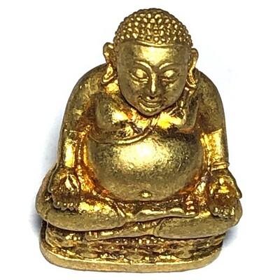 Pra Sangkajjai Loi Ongk Nuea Tong Rakang Ud Pong - Traimas 2554 BE Edition - Luang Por Sakorn Wat Nong Grub