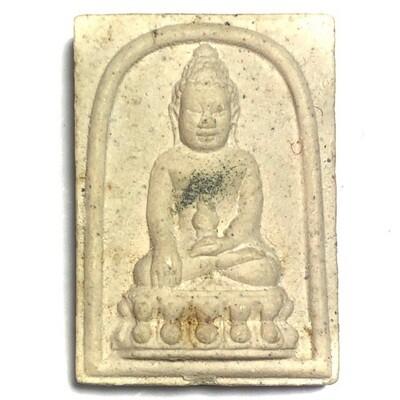 Pra Somdej Kring Roey Pong Tabai - Sacred Powder Buddha with Tabai Filings and Kring Bead Wat Sutat 2543 BE