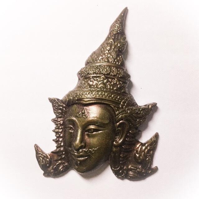 Pralaks Hnaa Tong Deity (Lakshman) - Nuea Tong Daeng Nork Pasom Chanuan Gao - Luang Phu Ka Long (Khiaw Gaew) - Wat Khao Laem 2550 BE