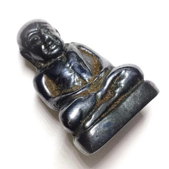 Pra Luang Por Ngern Lek Lai Bucha Statuette - Luang Por Huan - Wat Putai Sawan 2548 BE