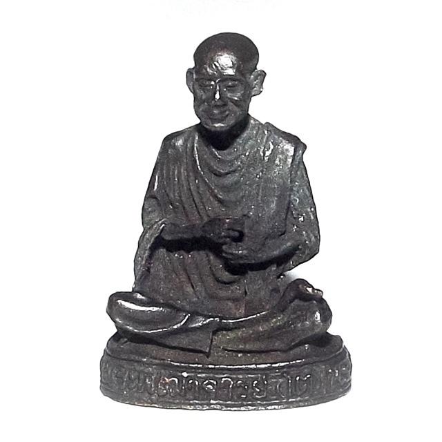 Roop Lor Somdej Pra Puttajarn (Dto) Prohmrangsri Wat Rakang Kositaram Anusorn 118 Pi Edition Loi Ongk Statuette 2533 BE