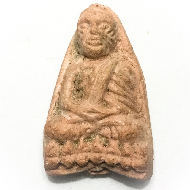 Luang Phu Tuad Pim Tao Reed - Wat Prasat Bunyawas 2505 BE - Nuea Khaw Lang Meng Roey Rae - Blessed in 2 Ceremonies by 234 Guru Masters
