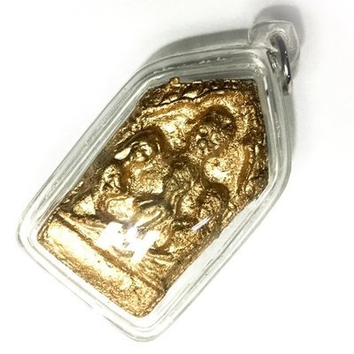 Pra Khun Phaen Nang Lorm - Pure Pong Prai Maha Phuudt Necromantic Powders with Bone Fragments  - Kama Sutra Love Charm - Ajarn Prodt