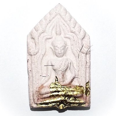 Pra Khun Phaen Pra Jantr Paen Ongk Kroo Nuea Chompoo Sord Takrut Monk Hair + Gold Leaf - Only 11 Made - Pra Ajarn Gorp Chai + Kroo Ba Krong - Wat Mae Ya 2558 BE