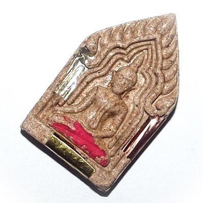 Pra Khun Phaen Sanaeh Jantr Ongk Kroo Nuea Wan Maha Sanaeh - 3 Takrut - Wat Mani Praison Free with Casing For Orders Over 160$
