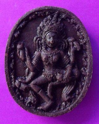Mae Yua Mueang Maha Sanaeh 'Ongk Kroo' - Love Charm, Gambling and Business amulet - 2 Takrut + Chin Aathan Relic insert - Luang Ta Liang - Wa Khao Rang