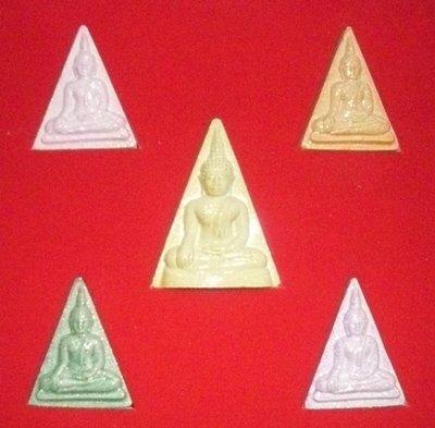 Pra Nang Paya Lp Tim (Ceramic Glaze set of 5)