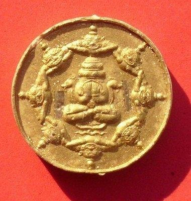 Pra Pid Ta Run Maha Mongkol Jakrawan Suryan Jantra Putakom Khao Or - 2545 BE - made with Khun Pantaraks