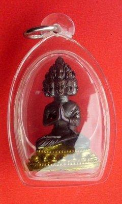 Pra Maha Sethee Gao Hnaa (nine faced Millionaire Buddha) - Pim Nang Ballangk Tong (golden throne) - LP Solos - Wat Koke U Tong