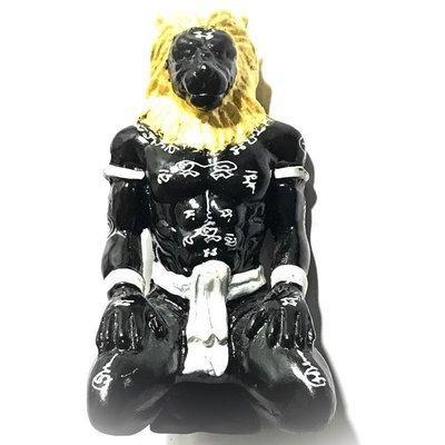 Taep Norasingh Vishnu Avatar Narasimha Saviour & Redeemer 3.5 Inch Bucha Statue - Ajarn Kritsada