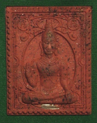 Tep Maha Normo and Ganesh amulet for riches and success