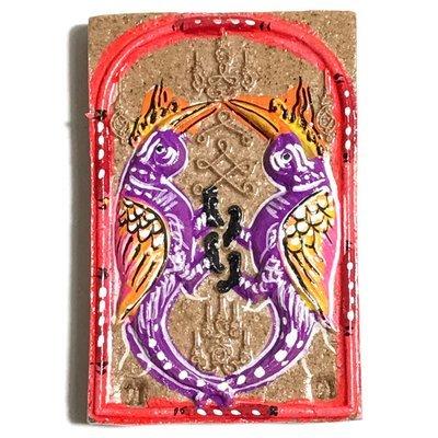 Taep Sariga Dong Hang Giaw Fang Ploi Maha Pokasap Purple Bird - Srang Taen Nam Edition 2553 BE - Kroo Ba Krissana Free With Orders Over 100$