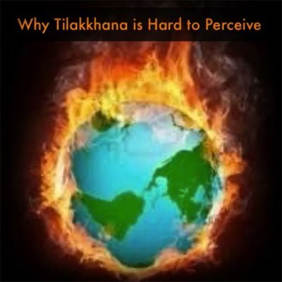 How to Practice Vipassana Pt. 3 Vol. 1 Why the 3 Marks of Existence are Hard to Perceive