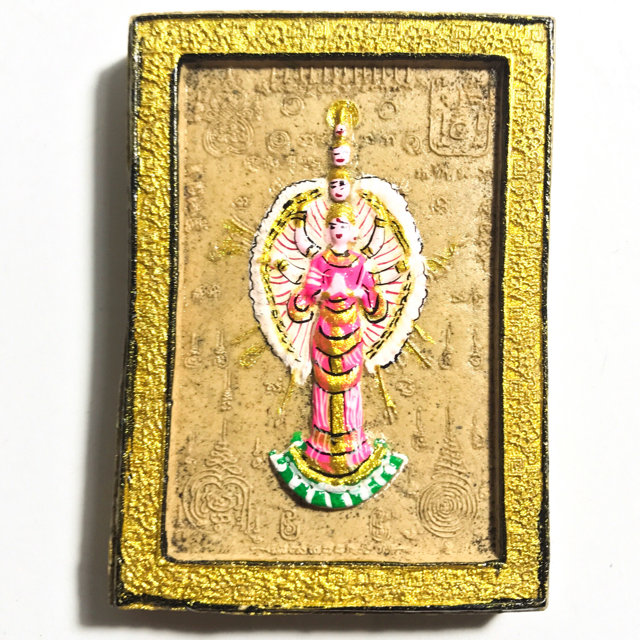 Pra Potisadtw Mae Guan Im Pan Mer 2553 BE Pink Robes 1000 Arms Kwan Yin Bodhisattva - Kroo Ba Krissana Only 300 Made