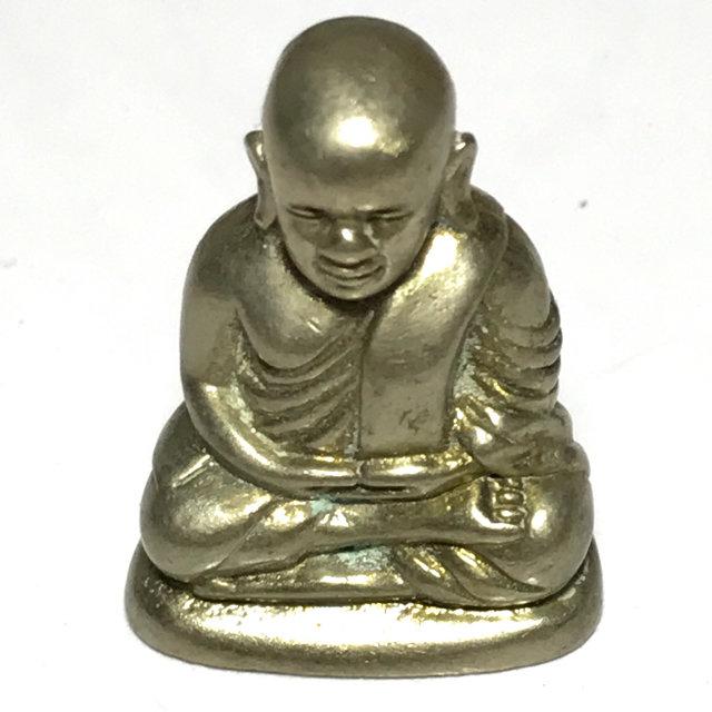 Pra Luang Por Ngern Pim Niyom Loi Ongk Nuea Albaca Gae Ngern - 2553 BE Wat Bang Klan