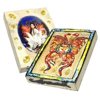 Taep Jamlaeng Pim Yai 24 Citrine Gems 9 Tails Fox Sao Ha Chadtr Mongkol Edition 2555 BE Kroo Ba Krissana