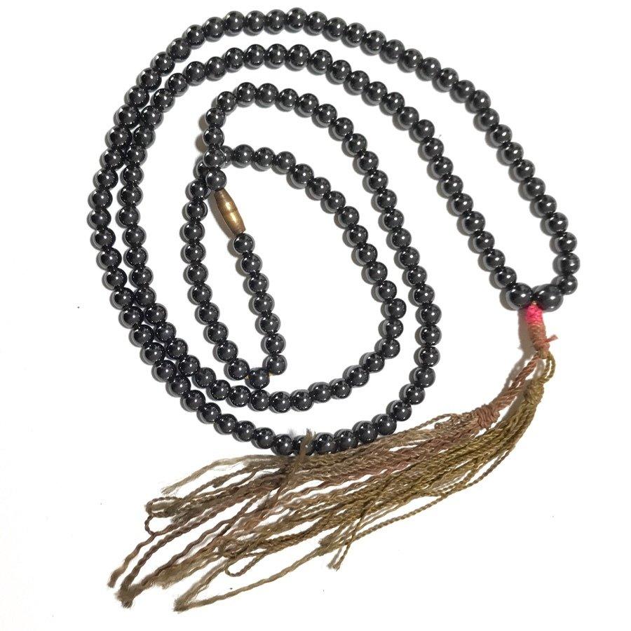Prakam Saksit Lek Lai Bead Buddhist Rosary for Powerful Meditation, Prayer and Protection - Luang Por Huan 2548 BE