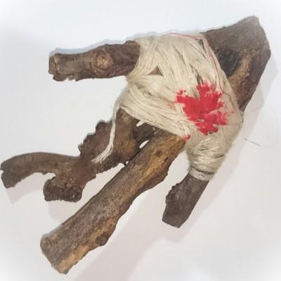 Hun Payont Mai Ga Fak Rak - Enchanted Sacred Treewood Spellbound Ghost Soldier effigy - Por Tan Kloi - Less Than 2 Dozen Made